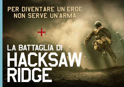 Suriglia Studio - Eagle Pictures - Hacksaw_ridge film - web adv