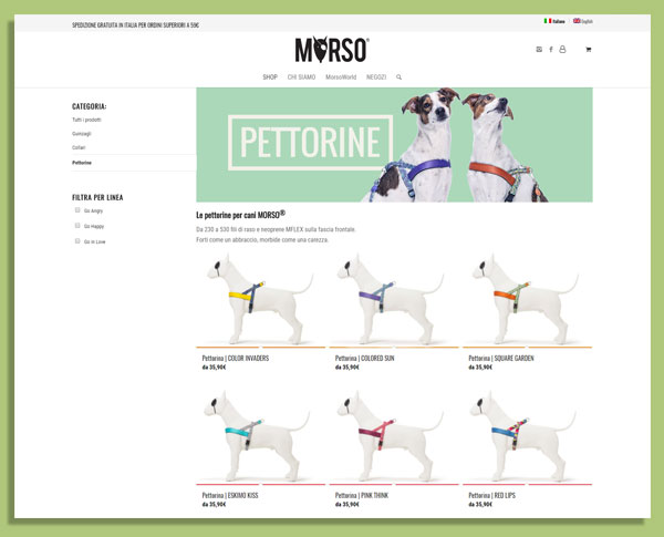 Suriglia Studio - MORSO® e-commerce store