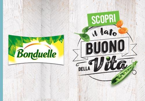 Suriglia Studio - Bonduelle Surgelati web adv