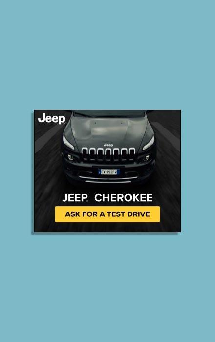 Suriglia Studio - Jeep Cherokee web adv