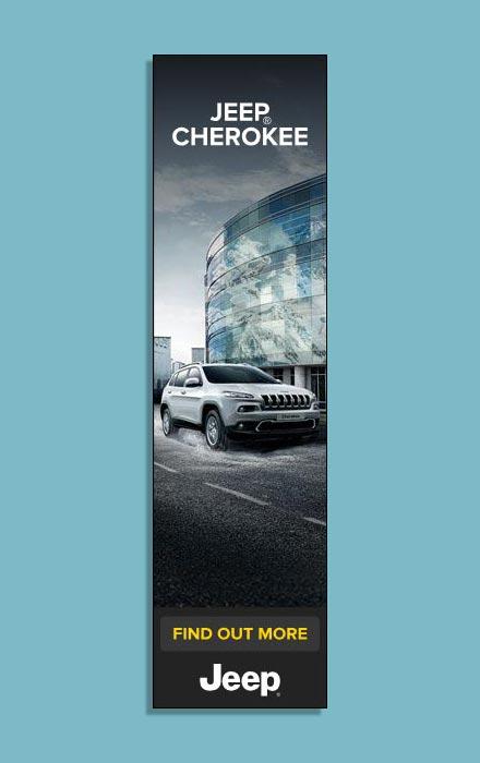 Suriglia Studio - Jeep Grand Cherokee web adv half page format