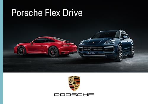 Suriglia Studio - Porsche Flex Drive - Web Advertising