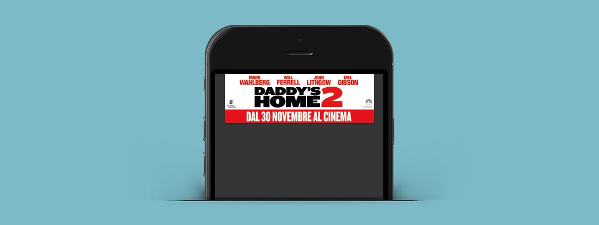 Suriglia Studio - Daddy's Home 2 - mobile mockup
