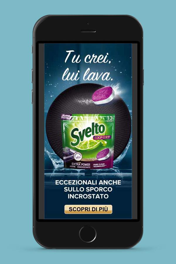 Suriglia Studio - Svelto Extra Power - mobile mockup