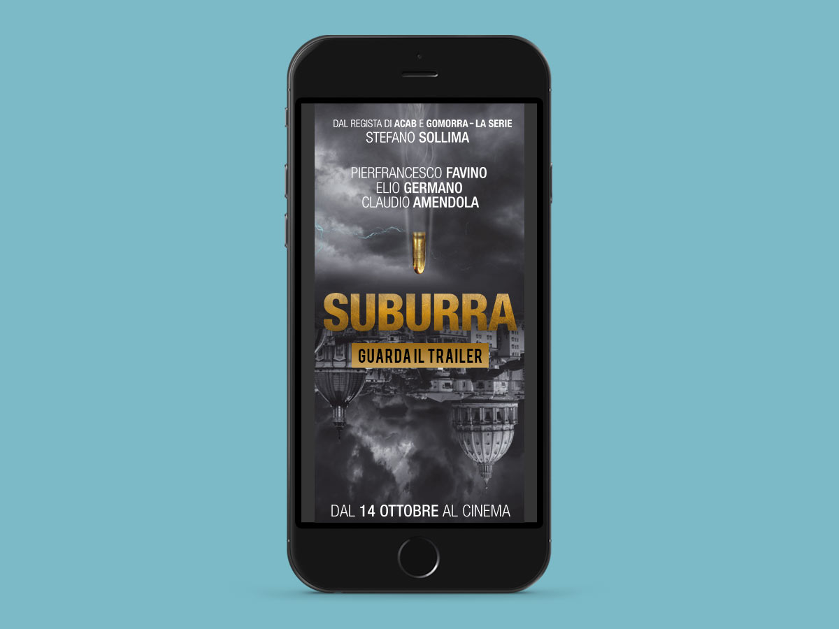 Suriglia Studio - Suburra - mobile mockup