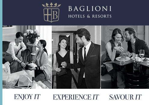 Suriglia Studio - Baglioni Hotels Web Advertising