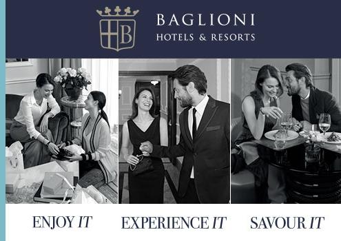 Suriglia Studio - Baglioni Hotels Web Advertising