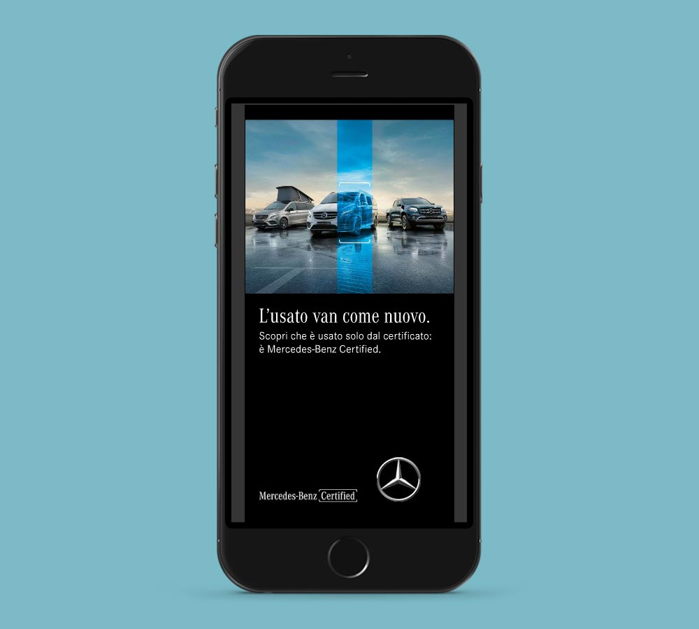 Suriglia Studio - Mercedes-Benz Vans Certified 300x600 html5