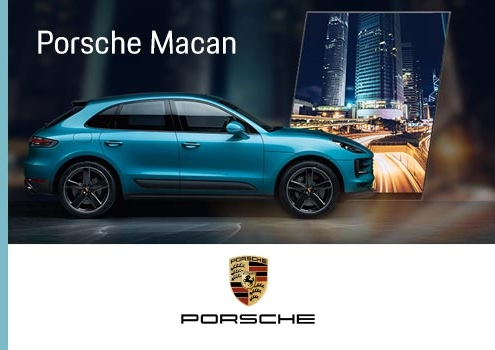 Suriglia Studio - Porsche Macan Web Advertising