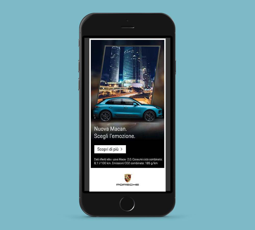 Suriglia Studio - Porsche Macan - mobile mockup